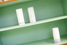 Coveting these vases from FH Porcelain, via Originol Hamburg.