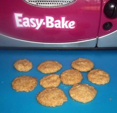 Make and share this Easy Bake Oven Butter Cookies recipe from Genius Kitchen. Easy Bake Oven Sugar Cookie Recipe, Easy Bake Oven Pans, No Egg Cookie Recipe, Easy No Bake Cookies, Cookie Recipes From Scratch, No Egg Cookies, Peanut Butter Cookie Recipe, Sugar Cookies Recipe, Easy Baking Recipes