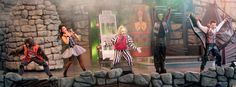 Beetlejuice's Graveyard Revue ~ I *never* miss this show when I go to the park.  The music is great and Beetlejuice is always entertaining!