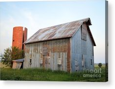 Abandoned On Kipling Acrylic Print by Bonfire #Photography