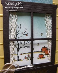 Canopy Crafts: Window on a Happy Scene {PP262}
