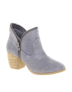 [Chinese Laundry Straberry Fields Ankle Boot (lilac) - ASOS] Already sold out in my size, but such a fun bootie!