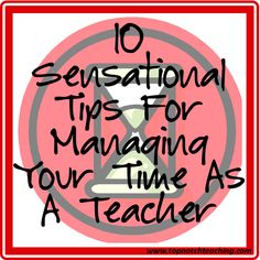 As a devoted and busy teacher how do you manage your time? Here you'll find 10 wonderful tips that you can use to help you manage your time as a teacher. http://topnotchteaching.com/classroom-management-organisation/10-tips-managing-time-as-a-teacher/