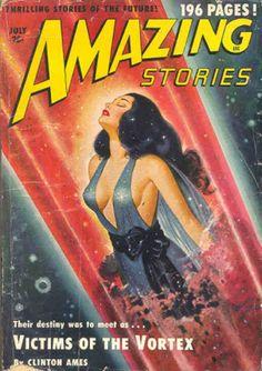 Amazing Stories - July 1950 #comic