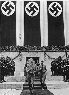 Hitler with Rudolf Hess