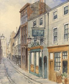 The office was situated in Thomas Street. The painting shows what these areas of Liverpool near the docks looked like when it was a thriving city. Liverpool Docks, Liverpool History, Liverpool Home, City Painting, History Projects, Old Photographs, Shed, Street, Pictures