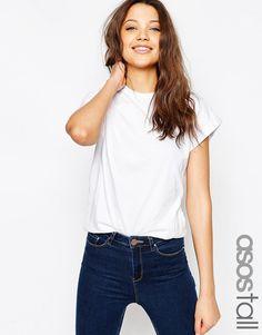 De sejeste ASOS TALL The Ultimate Easy T-Shirt - Black ASOS Tall T-Shirts til Damer i behagelige materialer