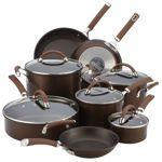 Circulon Premier Professional 13-piece Hard-anodized Cookware Set Chocolate