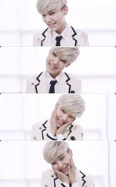 Zelo (B.A.P) Me: Isn't he cute? Friend: He looks like you. Me: (Secretly dying of happiness inside)