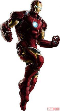 Iron Man (Marvel's The Avengers alternate costume) in Marvel: Avengers Alliance