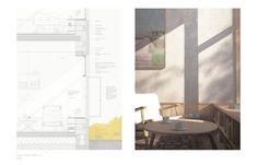 STEDSANS - Et hjem ved Sankt Joseph Klosteret, for mennesker med demens. Brick Architecture, Architecture Graphics, Architecture Drawings, Architecture Portfolio, School Architecture, Amazing Architecture, Architecture Details, Interior Architecture, Architecture Collage