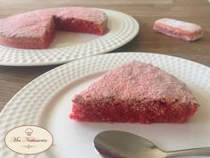 Soft with Pink Biscuits from Reims- Moelleux aux Biscuits Roses de Reims I offer you today the recipe for a great discovery…. the perfect combination of almond powder and Reims pink biscuit. A delicious, very soft cake that you can serve… - Cake Recipes From Scratch, Easy Cake Recipes, Sweet Recipes, Dessert Recipes, Thermomix Desserts, No Cook Desserts, Easy Desserts, Desserts With Biscuits, Cookies Et Biscuits