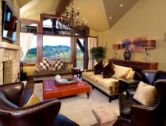 Furniture for Silver Strike Lodge in Park City