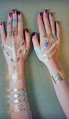 Ontwerp je eigen golden tattoo!