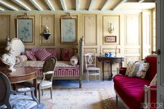 18th Century French Estate Renovation - Coorengel And Calvagrac Bordeaux Home - ELLE DECOR