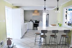 The Big Kitchen Reveal | Young House Love -- inc budget and steals-found...