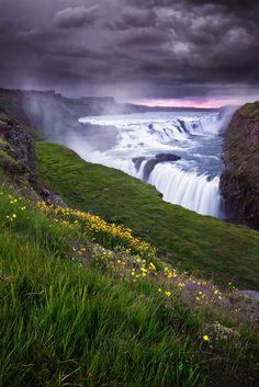 Gullfoss - Golden Falls, Iceland