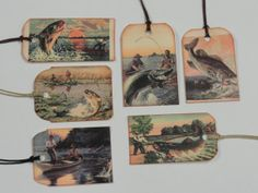 Fishing Gift Tags