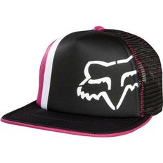 edd501dae39 Fox Racing Prime Lap Trucker Girls Adjustable Sports Wear Hat - Fuchsia    One Size Fox