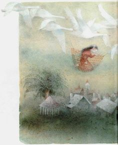 Kaarina Kaila's Illustrations for 'The Wild Swans' - Book Artists and Their Illustrations - Quora