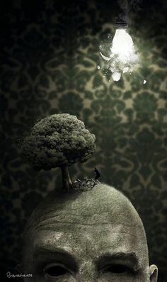 Between real and fantasy, photo manipulation by djajakarta - ego-alterego.com