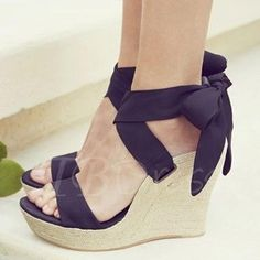 Buy fashion wedges shoes from shoespie. It offers you some cheap wedge shoes of different styles:printed wedge heels, strappy wedges boots, summer wedge sandals are standing for good quality. Platform Wedge Sandals, Wedge Shoes, Women's Shoes, Shoe Boots, Ugg Boots, Flat Sandals, Ugg Sandals, Leather Sandals, Black Shoes