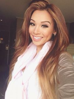Pretty hair color - Beauty and fashion