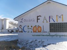 Perfect logo for Farm to School initiative.