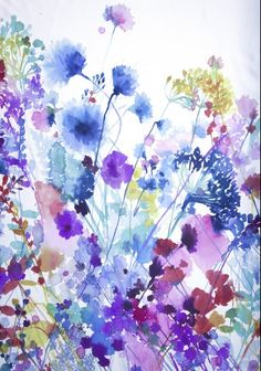 Luli Sanchez watercolour floral