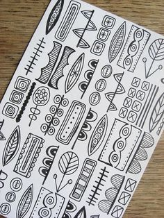 40 Beautiful Doodle Art Ideas | http://art.ekstrax.com/2014/07/beautiful-doodle-art-ideas.html
