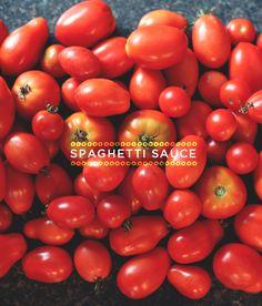 Just 5: Spaghetti Sauce  |  The Fresh Exchange