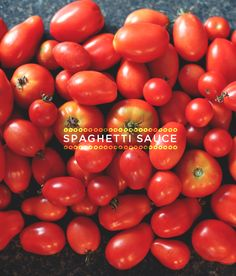 Just 5: Spaghetti Sauce  |  The Fresh Exchange