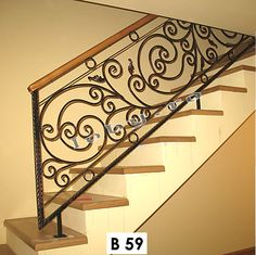 Balustrade fier forjat model Perla.