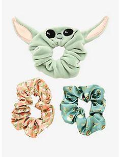 Scrunchies, Yoda Drawing, Yoda Images, Yoda Funny, Mode Kawaii, Star Wars Baby, Accesorios Casual, Disney Jewelry, Child Love