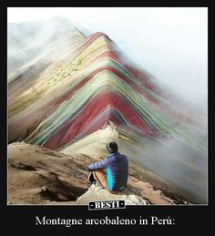 This one day trek to the Rainbow Mountain of Peru will leave you with a wonderful experience. Enjoy this new route rarely visited (rainbow mountains in Peru) Places To Travel, Travel Destinations, Places To Visit, Travel Around The World, Around The Worlds, Chile, Le Shop, Travel Abroad, Travel And Leisure