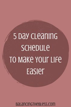 Do you ever look for new ways to make things around the house easier to accomplish? When it comes to cleaning our home I think we would all like to make this an easier job for ourselves. This is what my weekly cleaning looks like.