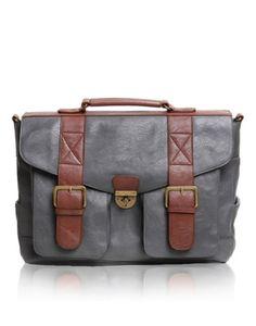 Epiphanie Grey Austin satchel camera bag