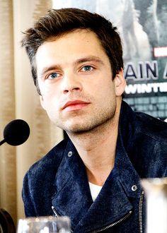 This man's eyes.