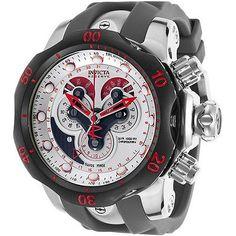 Mens 64518: Invicta Men S 14467 Venom Quartz Chronograph Antique Silver Dial Watch -> BUY IT NOW ONLY: $429.17 on eBay!