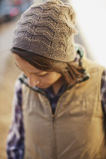 """""""Norby,"""" by Gudrun Johnston, knit with Brooklyn Tweed Loft."""