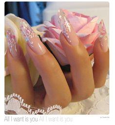 Nail Art sposa - Claudia Valli