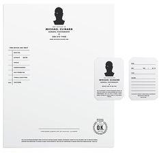tim lahan identity design photographer graphic design stationery branding letterhead business card