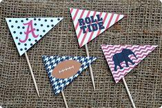 Alabama Cupcakes {Free Printable}