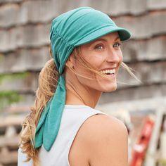 7b278002124ab The women s moisture-wicking Dry on the Fly Visor Headband blocks searing  sun with soft