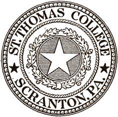 St. Thomas College seal, 1928