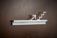 www.iosta.com Wayfinding Signs, Directional Signs, Shelves, Home Decor, Shelving, Decoration Home, Room Decor, Shelving Units, Home Interior Design