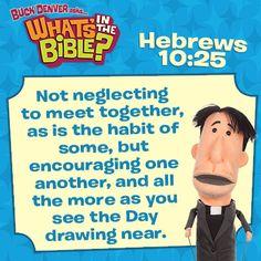 Hebrews10:25