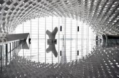 Aeroporto Internacional de Bao'an Shenzhen, projetado pelo Estúdio Fuksas.