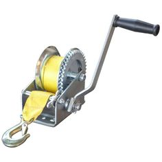 2,500 lbs. Hand Winch with Hook