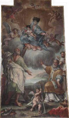 """Vasto Gallery: Giulio Cesare De Litiis, """"Madonna del Carmelo"""", se..."""